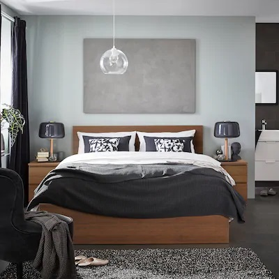 malm-bed-frame-high-brown-stained-ash-veneer__0734363_PE739454_S5